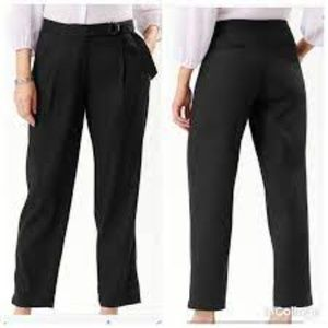 NWT Tommy Bahama Will Linen Stretch Pant Black 8